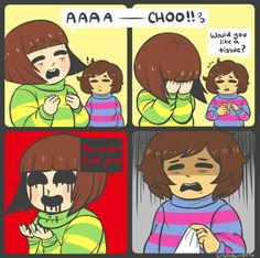 Sneeze by ChuraGhost on DeviantArt