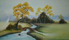 Paisagem -  Pintura em tela, by Gostinho Bom