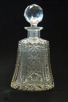 vintage perfume bottles in Antiques Refillable Perfume Bottle, Lalique Perfume Bottle, Crystal Perfume Bottles, Perfume Atomizer, Vintage Perfume Bottles, Vintage Glassware, Antique Glass Bottles, Beautiful Perfume, Bottle Vase