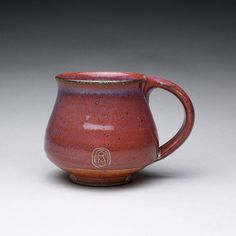handmade coffee mug teacup pottery cup with by rmoralespottery, $25.00