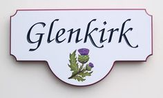 Glenkirk Property Sign