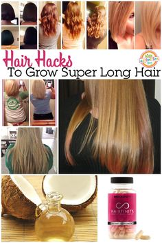 Genius ways to help grow your hair long, fast!