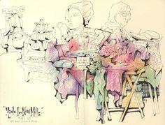 an online sketchbook
