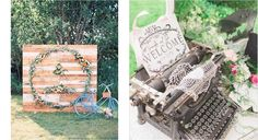 Carteles bienvenida para bodas, ¡ideas!