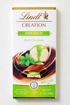 Pin for Later: 39 Chocolate-Mint Sweets, Ranked From Worst to Best Lindt Mint Coulis Creation Bar Mint Sweets, Bad Room Ideas, Lindt Chocolate, Easter Candy, Caramel, Sweet Tooth, Vanilla, Christmas Gifts, Ice Cream