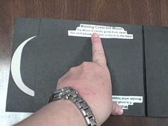 What an awesome idea of how to teach phases of the moon.  Makes for a great study aid too!