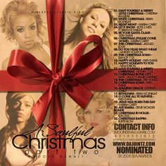 A Soulful Christmas 2 Mixed Compilation CD DJ Smooth Denali