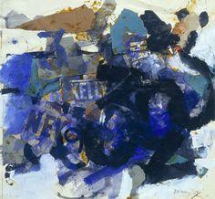 Robyn Denny, Abbey Wood No. I, 1958-9