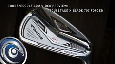 2012 TourStage 707 X-Blade Irons