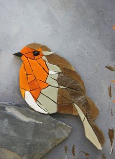 Table round table couple of mosaic birds - Mosaic Artwork, Mosaic Wall Art, Mosaic Diy, Mosaic Crafts, Tile Art, Mosaic Mirrors, Mosaic Animals, Mosaic Birds, Mosaic Flowers