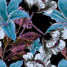 Almofada Botanical Flowers II  do Studio Millacortazio por R$55,00