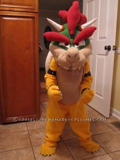The adventure of Bowser, oh what an adventure! The journey of making the costume started when Jordan (Grandson) so desperately wanted to be his favori...