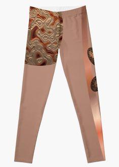 RUSTIC ABSTRACT #2. Leggings Designed by sana90 Pajama Pants, Pajamas, Women's Fashion, Leggings, Rustic, Abstract, Pattern, Design, Pjs