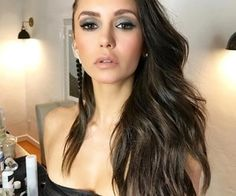 """Find and save images from the """"nina dobrev"""" collection by Lorena on We Heart It, your everyday app to get lost in what you love. Elena Gilbert, Best Drugstore Concealer, Nikolina Konstantinova Dobreva, Celebrity Makeup, Celebrity Skin, Hollywood Celebrities, Female Celebrities, Girl Crushes, Hair Inspiration"""