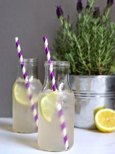 Lavender Lemonade - super refreshing and flavorful.