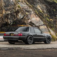 In celebration of Mustang Day here's a fine 1988 Mustang Special Service Package Fox Body as built by Which of Ford's other iconic pony cars would you want to see here? Mustang Lx, Fox Body Mustang, Mustang Cars, Notchback Mustang, Pony Car, Fender Flares, Sweet Cars, Us Cars, American Muscle Cars