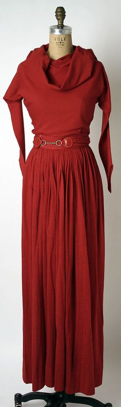 Evening dress Claire McCardell autumn clothing wardrobe