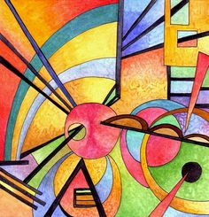 Want to discover art related to kandinsky? Check out inspiring examples of kandinsky artwork on DeviantArt, and get inspired by our community of talented artists. Wassily Kandinsky, Art Aquarelle, Art For Art Sake, Art Plastique, Sculpture Art, Abstract Art, Abstract Landscape, Abstract Watercolor, Modern Art