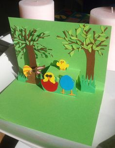 Easter Cards Easter Bunny Card Handmade by RoundTheCornerShop