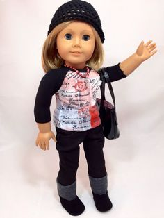 A personal favorite from my Etsy shop https://www.etsy.com/listing/226327153/american-girl-doll-clothes-the-felicity