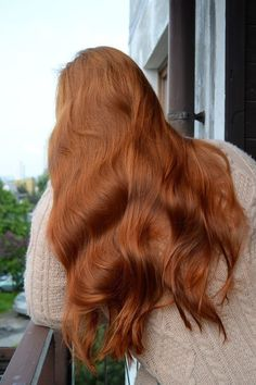 110 most popular copper hair color with highlights ombre -page 1 Ginger Hair Color, Brown Blonde Hair, Wavy Hair, Copper Hair, Hair Color Highlights, Auburn Hair, Aesthetic Hair, Dream Hair, Pretty Hairstyles