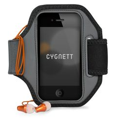 Cygnett CY0978CAACT Black Action Armband for iPhone 5 - 1 Pack - Retail Packaging - Black. Adjustable straps. Easy access to all ports. Weather resistant.