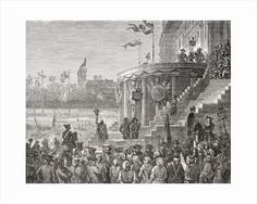 Celebration Of The Supreme June 1794 From An Engraving By P Jonnard From Histoire De La Revolution Francaise By Louis Blanc Canvas Art - Ken Welsh Design Pics x Welsh, Champs, Canvas Art, Canvas Prints, French Revolution, Supreme, Picture Frames, June, Celebrities