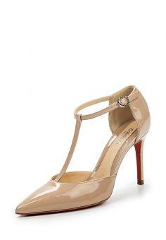 Туфли Baldinini, цвет: бежевый. Артикул: BA097AWHLK66. Женская обувь / Туфли