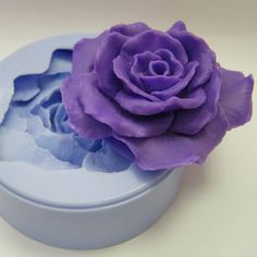 Rose mold soap mold silicone molds mold for soap mold by GoodMolds, $11.49