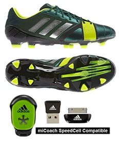 Forest Green Adidas Nitrocharge. Re-Engergize your game! www.soccercorner.com