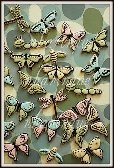 Bug cookies by @sweetpudgypanda