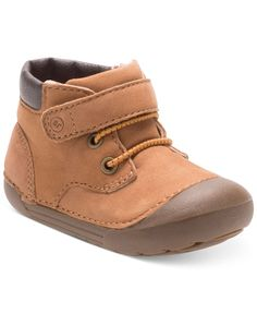 Inspired by rugged big-kid style, these Stride Rite boots feature simple Velcro-and-elastic-lace closures that are perfect for little feet. | Leather upper; rubber sole | Imported | Velcro® closure at
