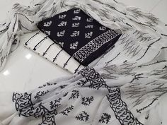 Kirans Boutique jaipur Casual wear Black and White Traditional Cotton salwar kameez set with mulmul dupatta for ladies The post Casual wear Black and White Traditional Cotton salwar kameez set with mulmul dupatta appeared first on Kiran's Boutique. White Salwar Suit, White Churidar, Salwar Pants, Cotton Salwar Kameez, Suits For Sale, Suits For Women, Clothes For Women, Colour Combination For Dress, Black And White Suit
