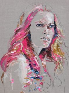 Judith Geher / Acrylic on Linen