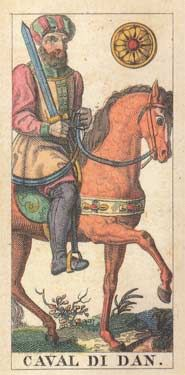 Compare Images of the Knight of Pentacles Card
