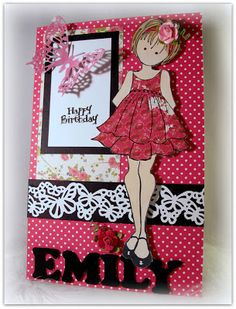Dar's Crafty Creations: A Prima Doll for Emily!