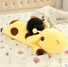 Cheap deer plush, Buy Quality giraffe pillow directly from China toys gift Suppliers: Plush Lie Giraffe Pillow Staffed Deer Plush Toy Nap Pillow Christmas Gift High Quality