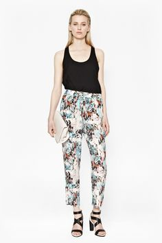 Isla Ripple Drape Trousers - Trousers & Leggings - French Connection