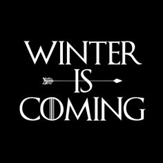 Winter Is Coming Hoodie. Available to buy online in South Africa. Courier delivery throughout South Africa. SA's best nerdy, funny, geeky and superhero inspired hoodies.