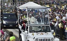 The Pope Will Be Ferried In A Jeep Wrangler For His Upcoming Visit