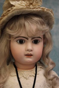 Stunning 35 Antique Depose Tete Jumeau 16 French Doll Open Mouth 16 and is a wonderful 35 tall. She is on a fully jointed wood and composition Jumeau