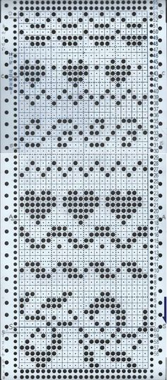 Knitting Machine Patterns, Knitting Charts, Knitting Stitches, Double Knitting, Lace Knitting, Knitting Socks, Cross Stitch Borders, Cross Stitch Patterns, Stitch Drawing