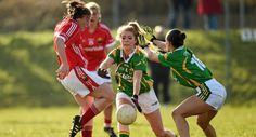 Cork Ladies hold out for narrow win over Kerry Cork, Irish, Hold On, Action, Football, Running, Lady, Fitness, Sports