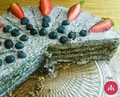 Bezlepkové recepty: Maková torta - KAMzaKRASOU.sk Avocado Toast, Pudding, Eat, Breakfast, Desserts, Food, Poppy, Diabetes, Fitness