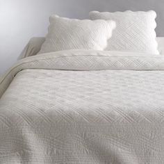Pure Cotton Hand-Finished Quilted Throwover