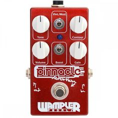 WAMPLER PEDALS PINNACLE DISTORTION. #epiClone