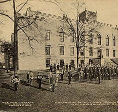 Georgia Military College, Milledgeville, Ga. :: Historic Postcard Collection. http://www.georgiatrust.org/historic_sites/rambles/ramble.php