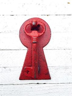 Cast Iron Key Door Knocker DK001 Iron Wall Decor by TheIronNook