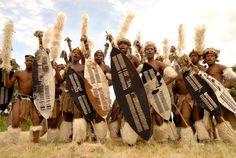Young modern day Zulu warriors. Photo: God's Golden Acre