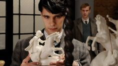 Ben Whishaw and James D'Arcy from CLOUD ATLAS.